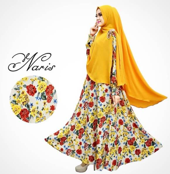 gamis muslimah syari cantik