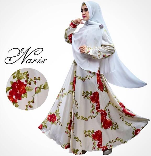 model baju gamis muslimah