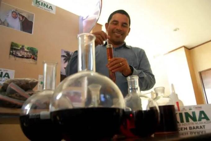 minyak nilam indonesia