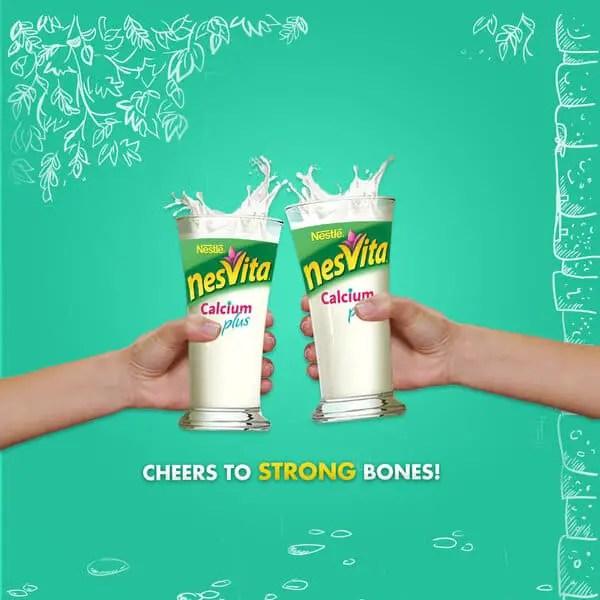 Susu Peninggi Badan Nesvita Calcium Plus
