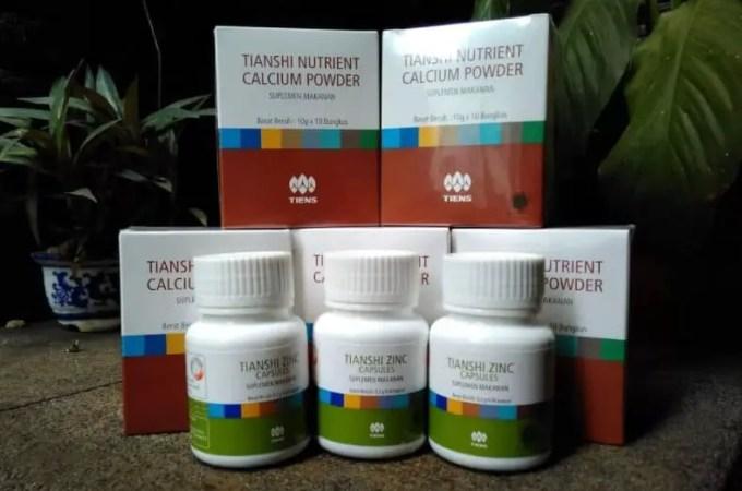 Susu Peninggi Badan Tiens Nutrient Calcium Powder