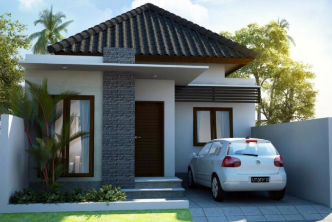 rumah minimalis 1 garasi