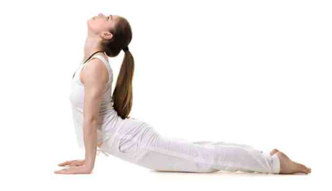 gerakan yoga back pain pose