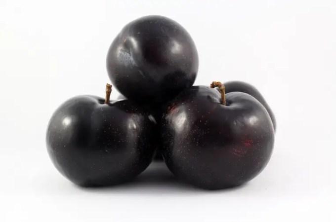 buah plum hitam