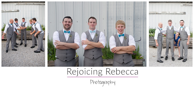 Photobomber at wedding