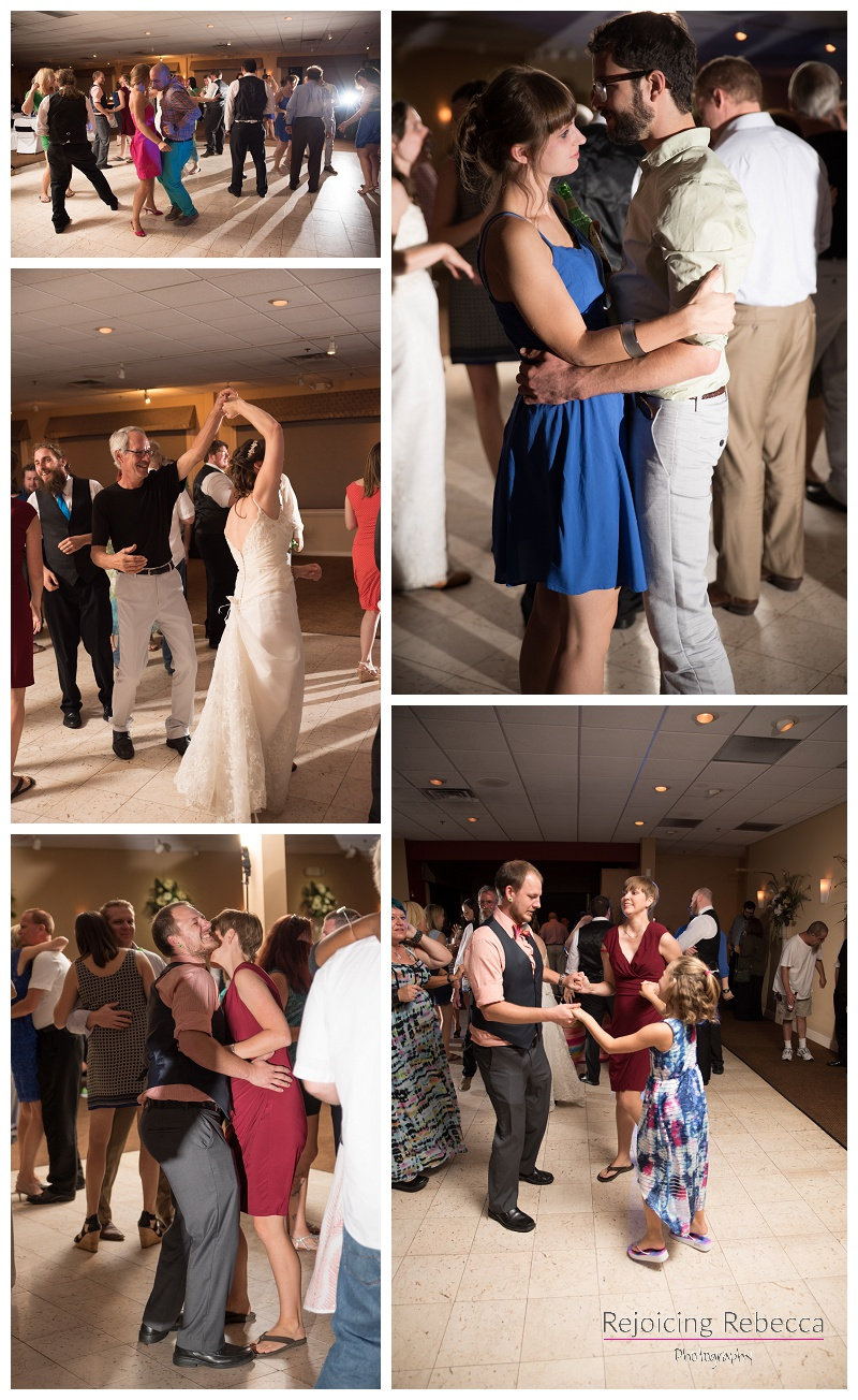 Guests love to dance at receptions!