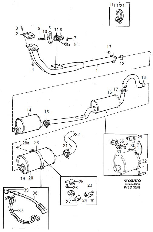 SÄLJES: Blandade delar (Mest Volvo) • Säljes • Sävar Turbo