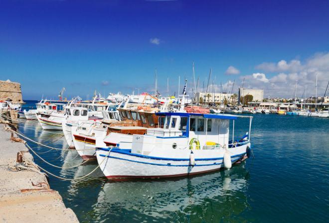 Kreta - Fiskerbåde