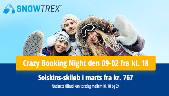 Crazy Booking Night med SnowTrex
