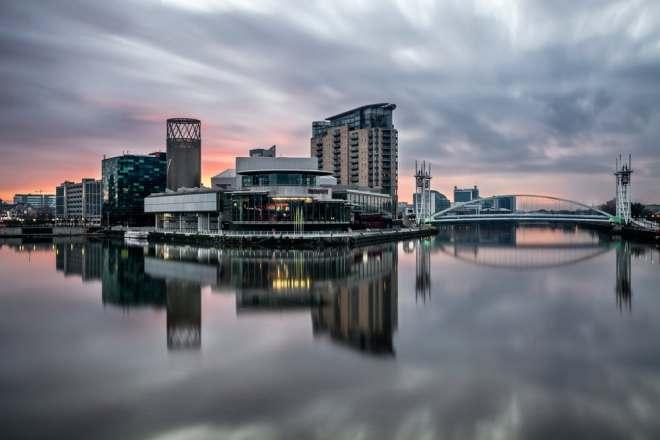 Salford Quays - Manchester i England