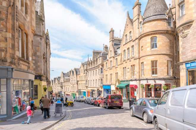 Miniferie i Edinburgh