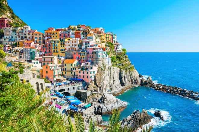 Manarola - Cinque Terre i Italien