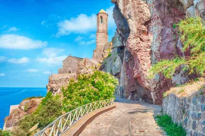 Castelsardo - Sardinien i Italien