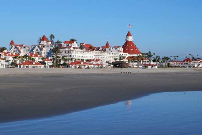 Coronado Beach - San Diego i Californien