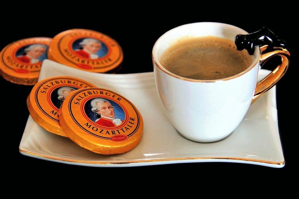 Austria - Mozart, coffee - travel