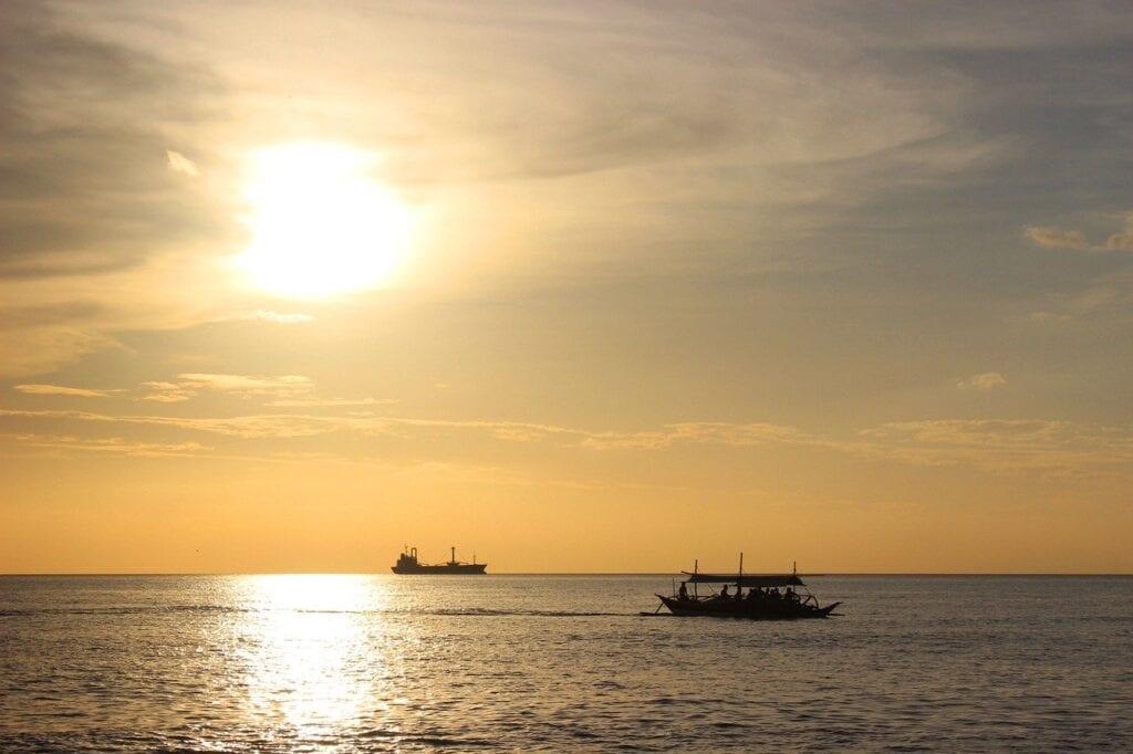 Pilipinas - dagat, paglubog ng araw, panauhin - paglalakbay