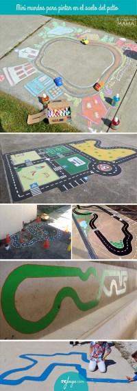 Cmo convertir un patio gris en un patio con color, juego ...