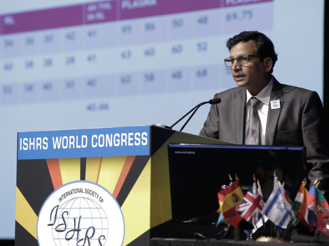 ISHRS World congress By Dr. Anil Garg