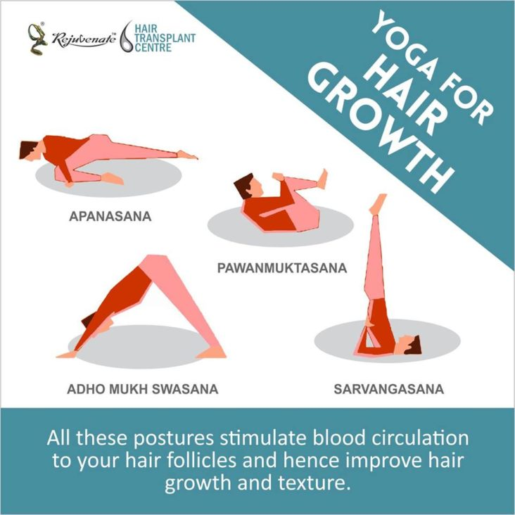 yoga for hair grought