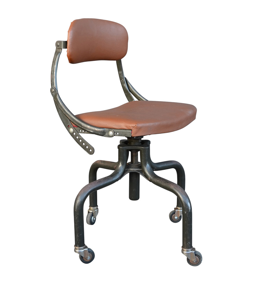 Industrial DoMore Office Chair c1940  Rejuvenation