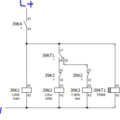 Wiring Diagram Star Delta Starter Siemens Bt Phone Socket Broadband Apa Itu Starting Motor | Rekayasa Listrik