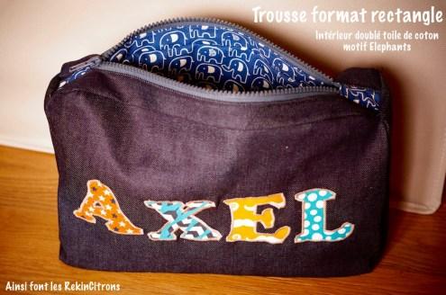 Trousse Axel doublure