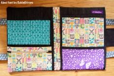 Pochette sacoche dessin enfant totems 2