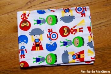 tissu superheros kaufman