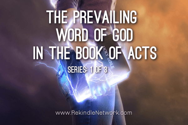 The Word in the Book of Acts