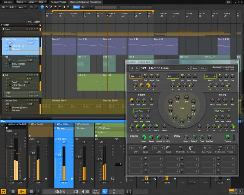 Zynewave Podium V2 20 Music Production Software For