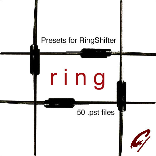 9 Soundware Ring, a collection of 50 presets for Logic Pro