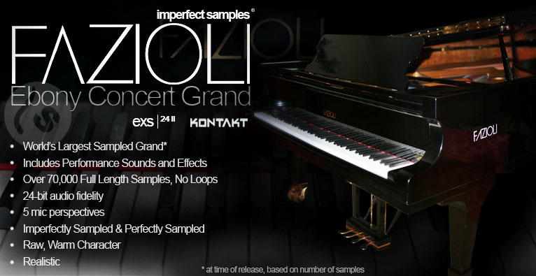 Imperfect Samples Fazioli Ebony Concert Grand, Epic Grand