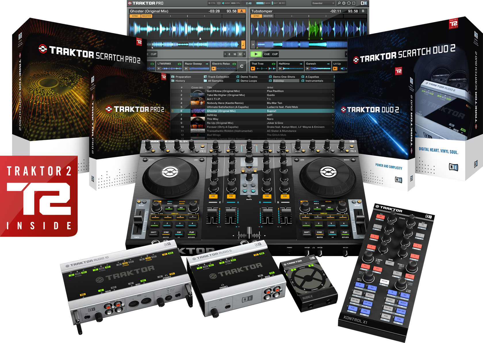 hight resolution of native instruments traktor 2 generation