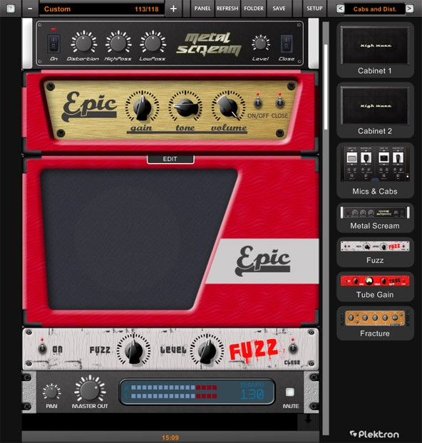 Plektron Guitar Amp effect updated to v21