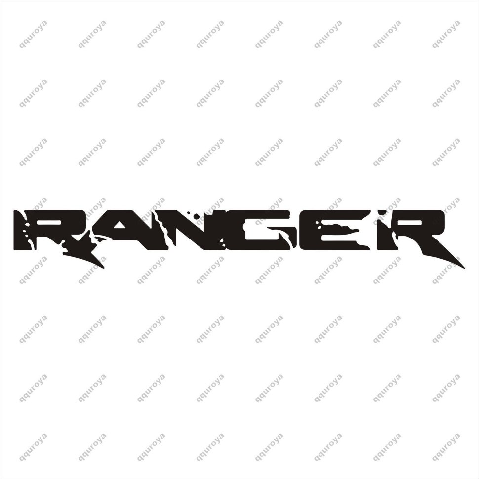 Ford RANGER Large Side Vinyl Body Decal Sticker Graphics