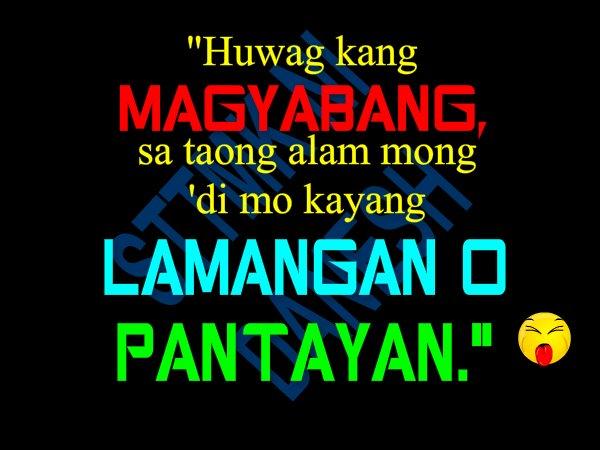 Kaaway Sa Patama Tagalog Quotes