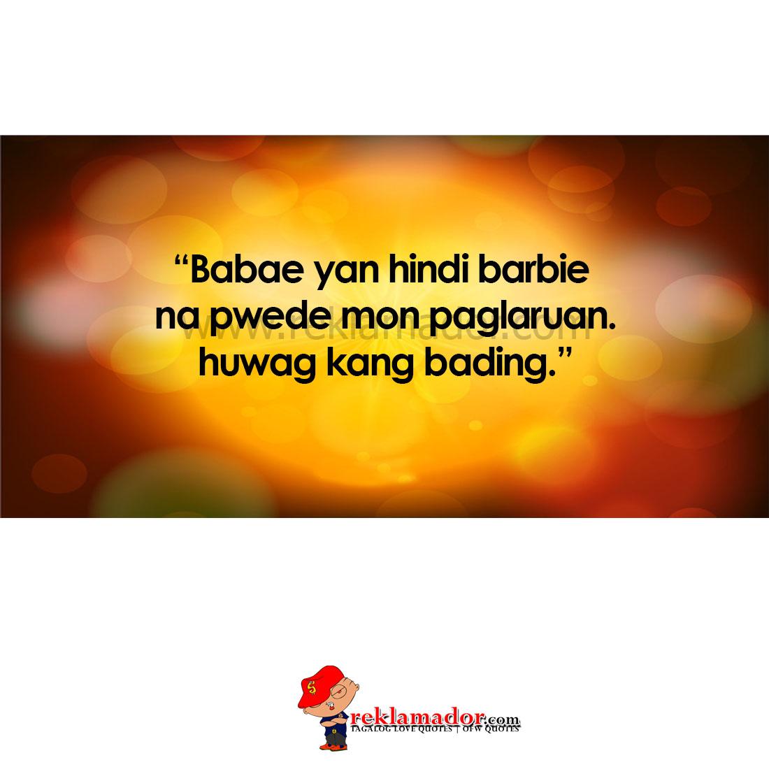 Sa Pag Hugot Tagalog Ibig