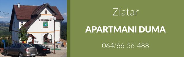 Apartmani Duma - Zlatar