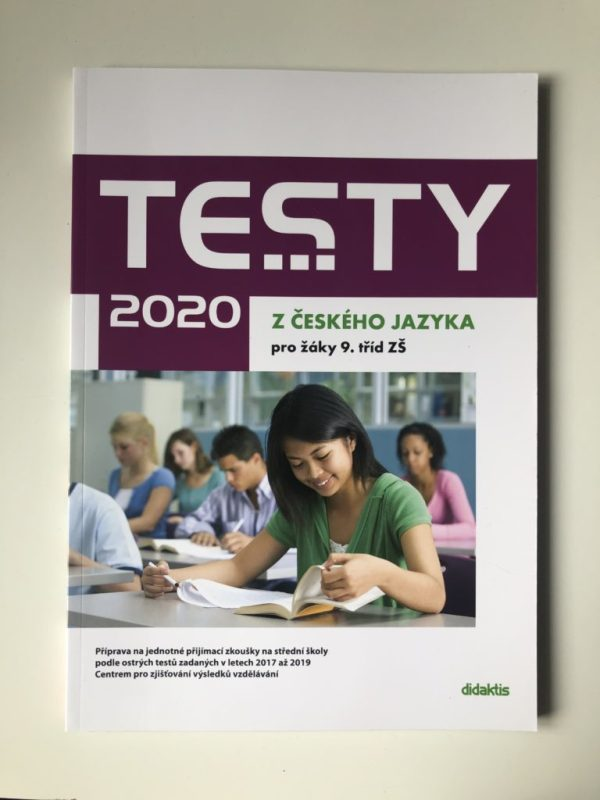 Testy 2020 z českého jazyka pro žáky 9. tříd ZŠ