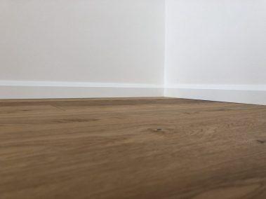 Rekonstrukce rodinný dům Modřany Praha předsíň podlaha