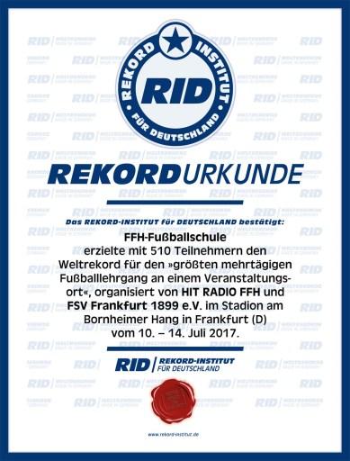 RID-Urkunde-FFH-Fußballschule