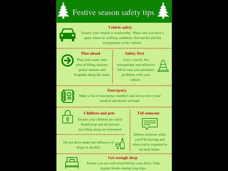 Festive Season Safety Tips Rekord East