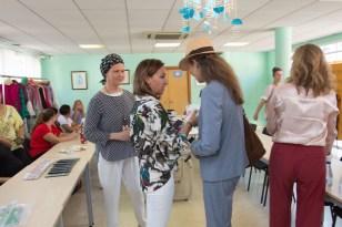 La Infanta Elena comenta la educación emocional por WhastApp con Chary Sánchez