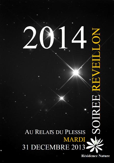 le reveillon de la nouvelle annee 2014 au relais du plessis