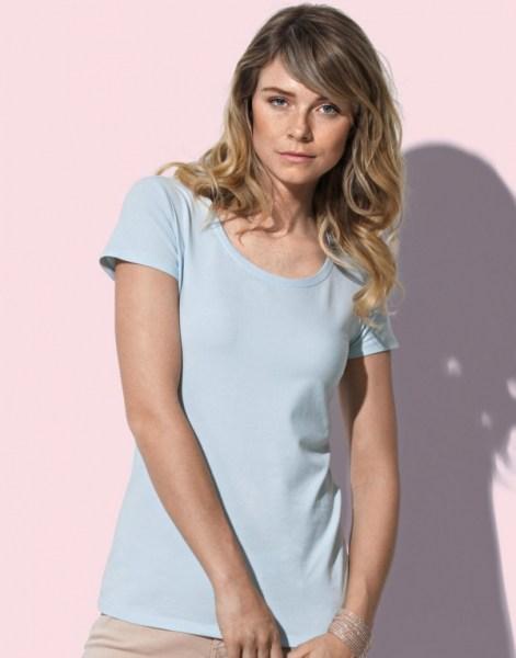 Premium T-shirt met Ronde hals