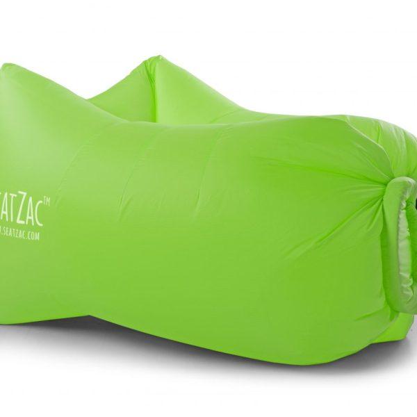 groene lucht zitzakken bedrukken met logo
