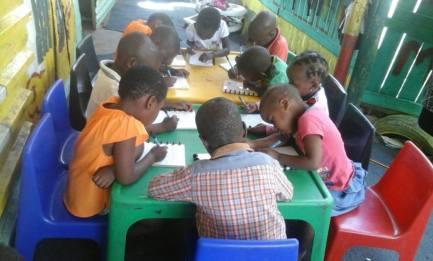 zuid afrika werken met correctbook schoolkinderen