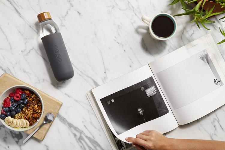 duurzame waterflessen drinkbeker soma bottle marmer