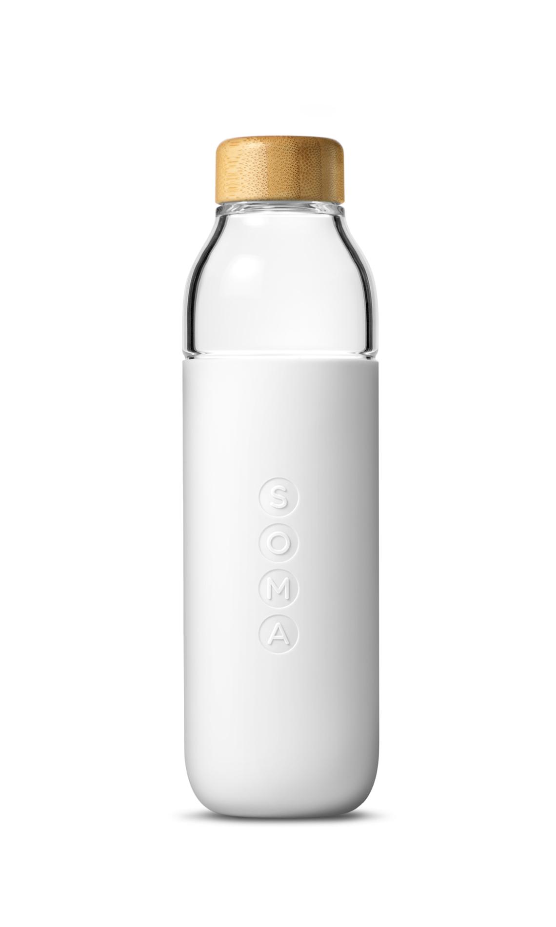 duurzame waterflessen soma bottle wit