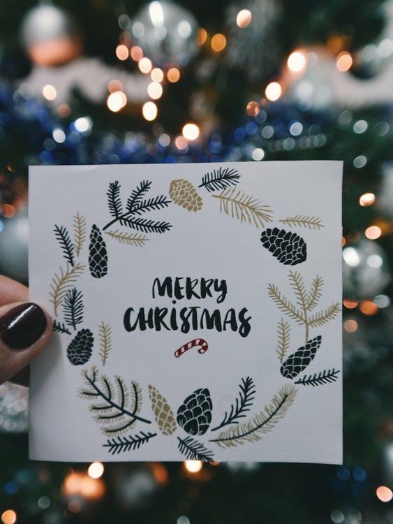 kerstmarkt voor bedrijven aandenken foto kerstkaart